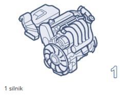 1 silnik